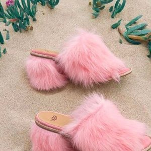 Uggs Fluff heels